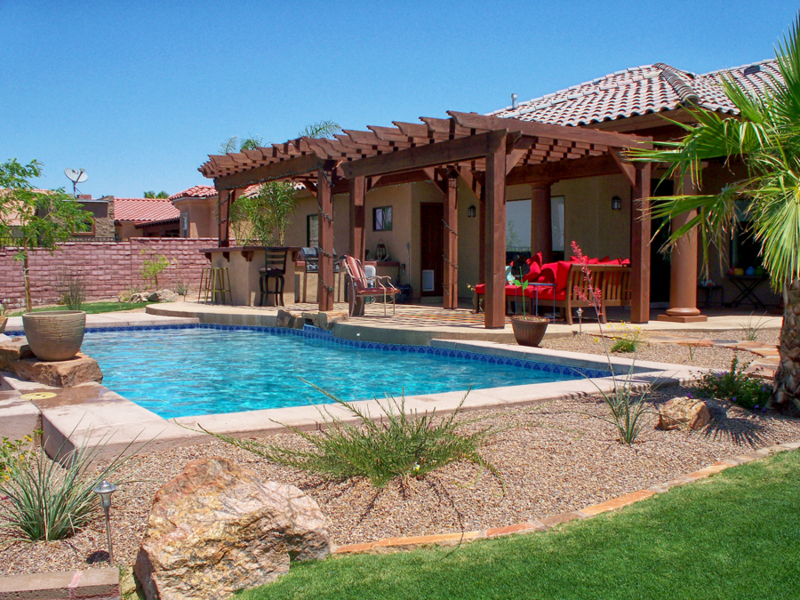 Arizona Backyard Artesian Pools Amp Spas Yuma Az